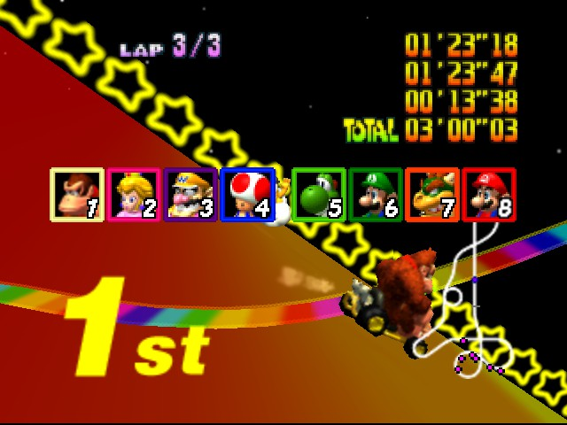 Mario Kart 64 - 3:00... LIKE A BOSS - User Screenshot
